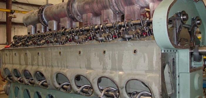 16 Cylinder EMD Rebuild