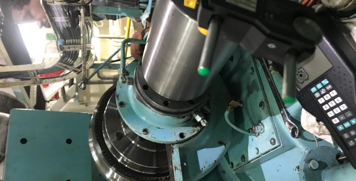 MAK Main Engine PTO Alignment And Chockfast To Speed